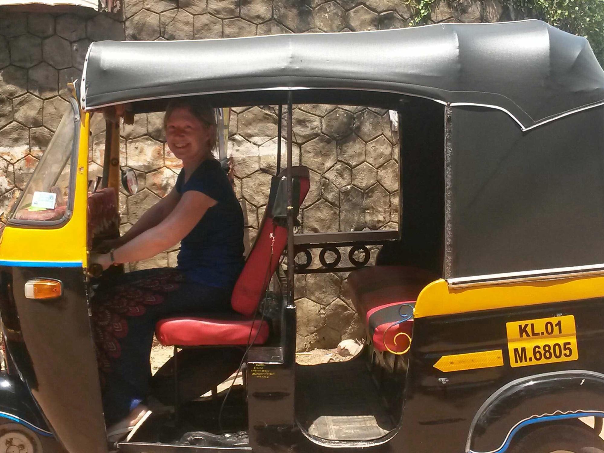 Auto Rickshaw Riding Wanderbods
